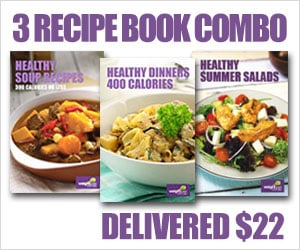 Three Recipe Book Combo Deal