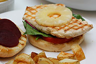 Grilled Aussie Chicken Burger