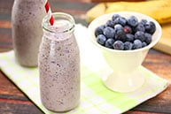 Banana & Blueberry Smoothie