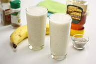 Spiced Banana Smoothie