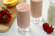 Strawberry and Mango Smoothie