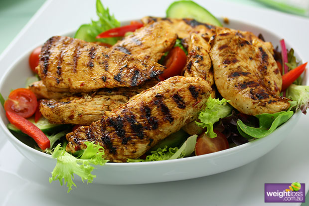 Lemon Chilli Chicken Salad