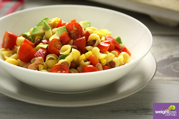 Four Bean Pasta Salad