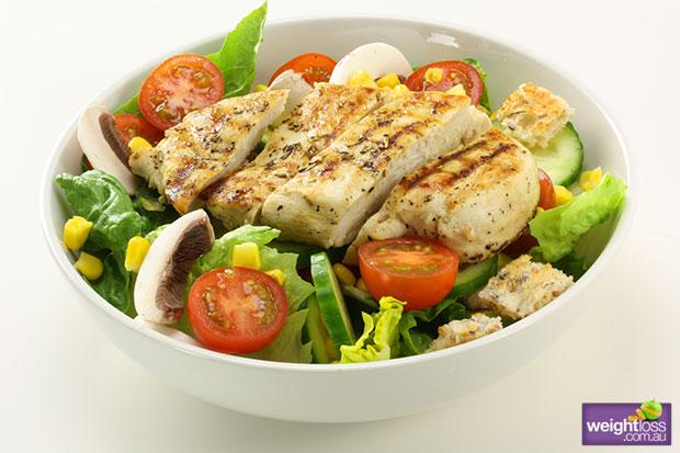 Healthy Chicken Salad Weightloss Com Au