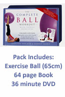 Complete Ball Workout with Pilates Principles Pack